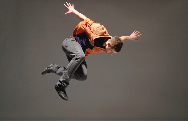 Josh Martin performs at this year's Dancing on the Edge Festival.